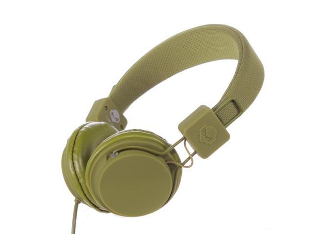 Subjekt TNT-QM1259 40mm Headphones with Mic - Green