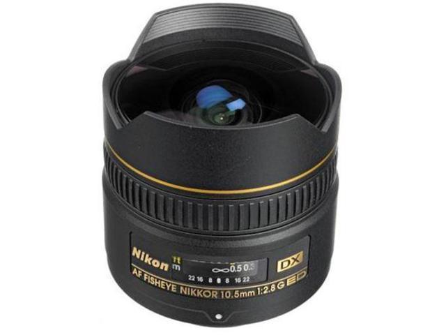 Nikon 10.5mm f/2.8G ED-IF AF DX Fisheye Nikkor Lens F/DSLR Cameras Free Shipping