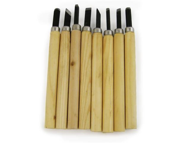 8pc Wood Carving Chisels Set