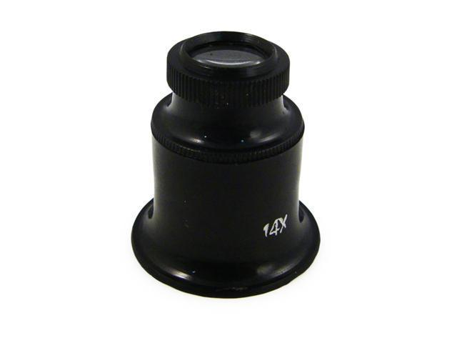 (14x) Universal Jeweler & Photographer Magnifying Eye Loupe
