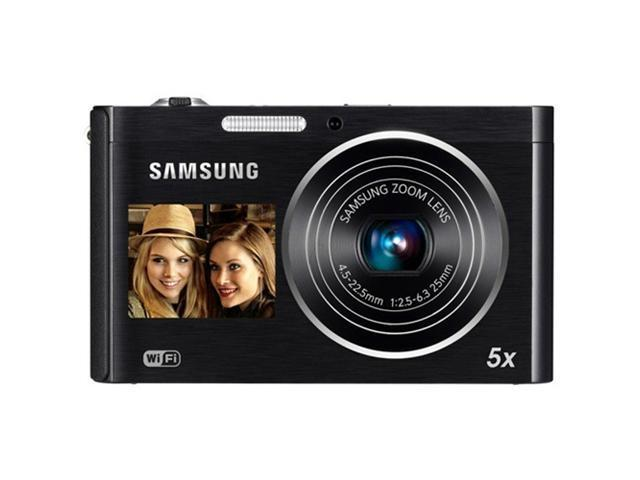Samsung 16.1 Megapixel, 5x Total Zoom, Digital Camera - (Black)