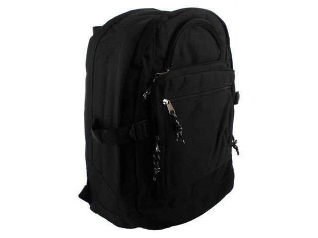 Merax School Backpack, Poly Cord, Black