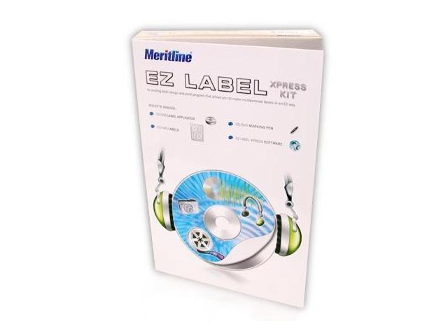 Merax/Meritline EZ Label Xpress Kit for CD/DVD Labeling