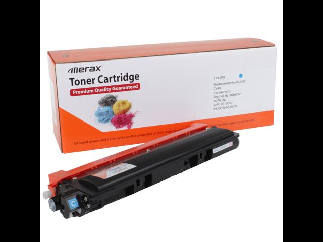 Merax Compatible Cyan Toner Cartridge for Brother TN210C (TN 210)
