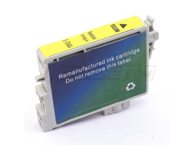Merax Remanufactured Yellow Inkjet Cartridge for Epson T048420