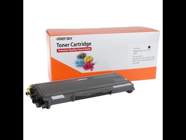 Merax Premium Compatible High Yield Black Toner Cartridge for Brother TN360