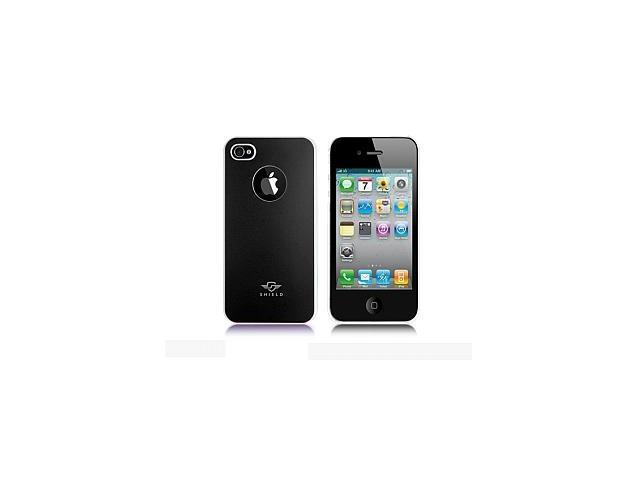 iShell Bi-Color Series Skin-Fit Back Cover for iPhone 4/4S - Black/White (Summer Edition)