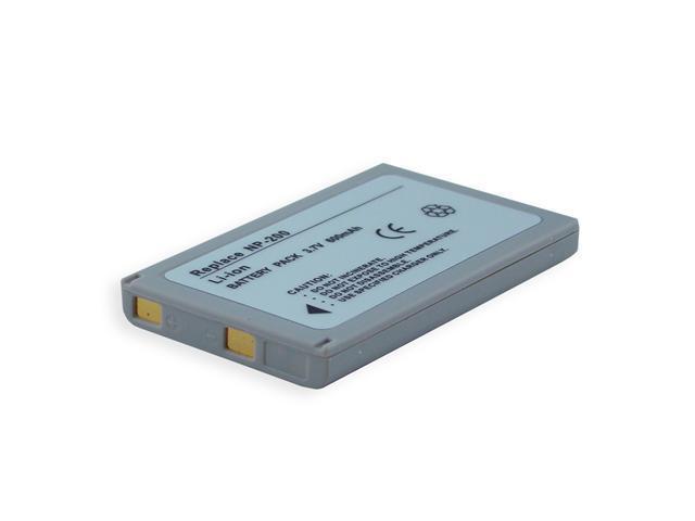 600mAh Li-Ion Camera/Camcorder Battery for MINOLTA