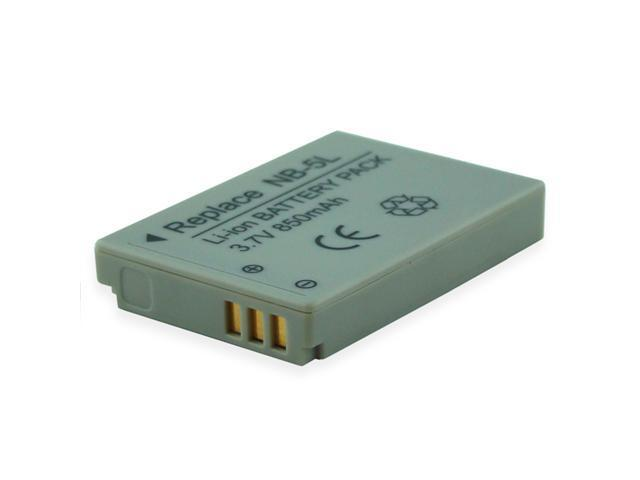 850mAh Li-Ion Camera/Camcorder Battery for CANON