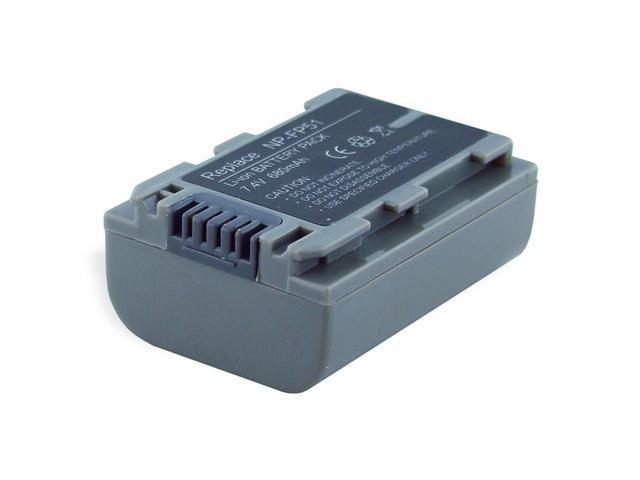 680mAh Li-Ion Camera/Camcorder Battery for SONY