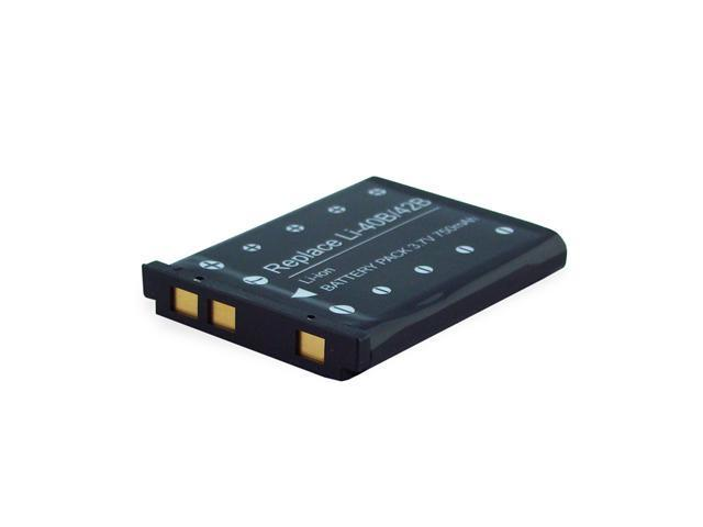 750mAh Li-Ion Camera/Camcorder Battery for OLYMPUS