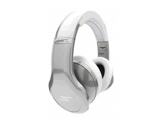 SMS Audio STREET by 50 Cent ANC Active Noise-Canceling Headphones - Cool Silver