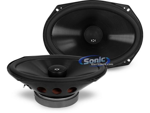 "NVX VSP69 6"" x 9"" V-Series Coaxial Car Audio Speakers"