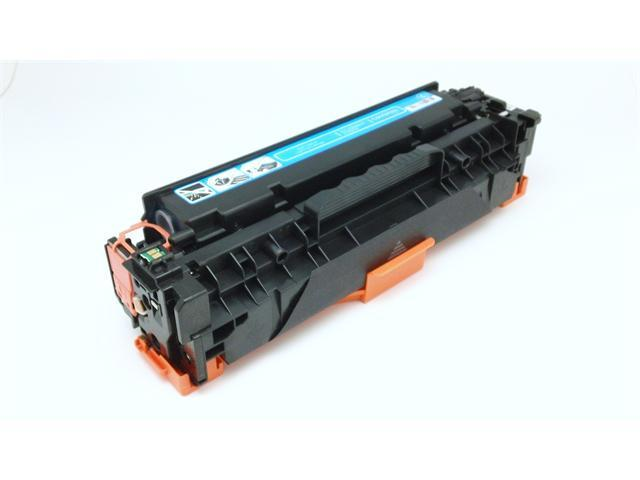 [ CC531A ] CC531 531A Remanufactured Hewlett-Packard HP CYAN Toner Cartridge Color Laserjet CM2320fxi CM2320n CM2320nf CP2020 CP2025 CP2025 CP2025dn CP2025n CP2025x
