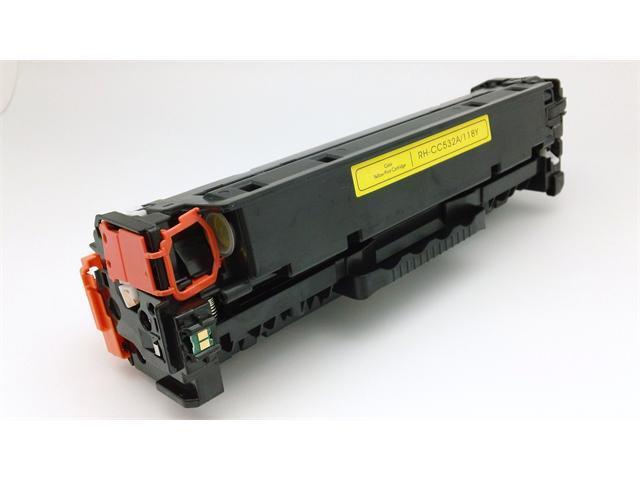 [ CC532A ] CC532 532A Remanufactured Hewlett-Packard HP YELLOW Toner Cartridge Color Laserjet CM2320fxi CM2320n CM2320nf CP2020 CP2025 CP2025 CP2025dn CP2025n CP2025x