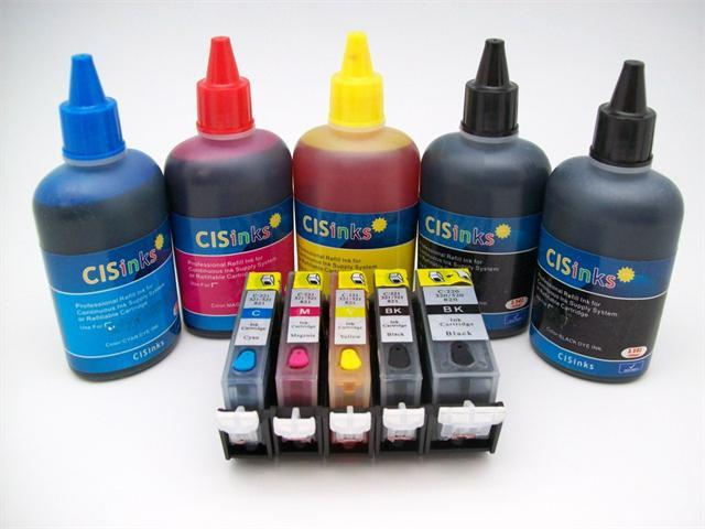 Refillable Ink Cartridge KIT for Canon Pixma IP4600 IP4680 IP3600 IP4700 MP560 MP620 MP630 MP640 MP638 MX860 Cartridges