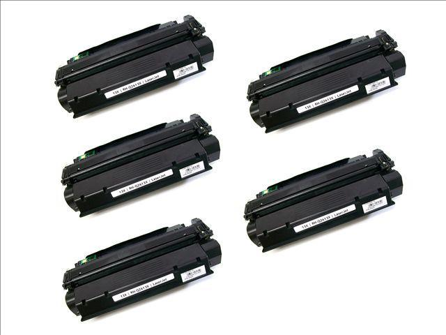 5PK [ Q2613X ] Q2613 2613X 13X Compatible Hewlett-Packard HP BLACK Toner Cartridge Laserjet 1300 Series, 1300N, 1300XI