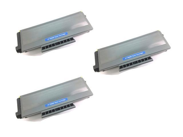 3PK [ TN580 / TN650 ] TN-580 TN-650 Compatible Brother Black Laser Toner Cartridge DCP-8050DN, DCP-8080DN, DCP-8085DN