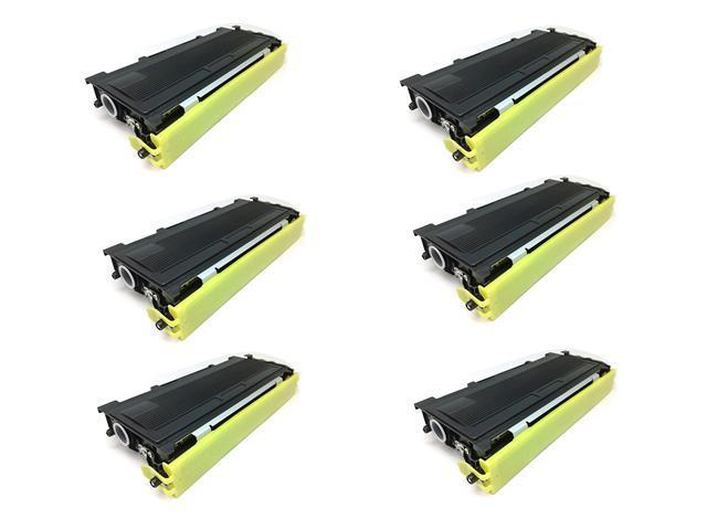 Cisinks ® 6PK Compatible TN-350 TN350 High Yield Toner Cartridge for the Brother DCP-7025 CP-7010, DCP-7020, DCP-7025-D