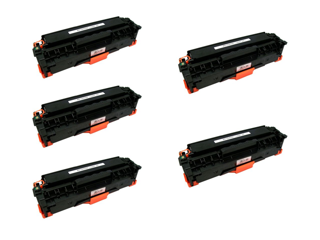 Cisinks 174 5 Pack Black Compatible Hp Hewlett Packard