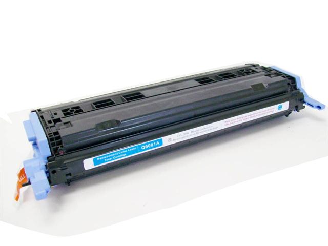 Cisinks ® Remanufactured Cyan Laser Toner Cartridge for Hewlett Packard (HP) Q6001A (HP 124A) Color LaserJet 1600 2600 2600N ...