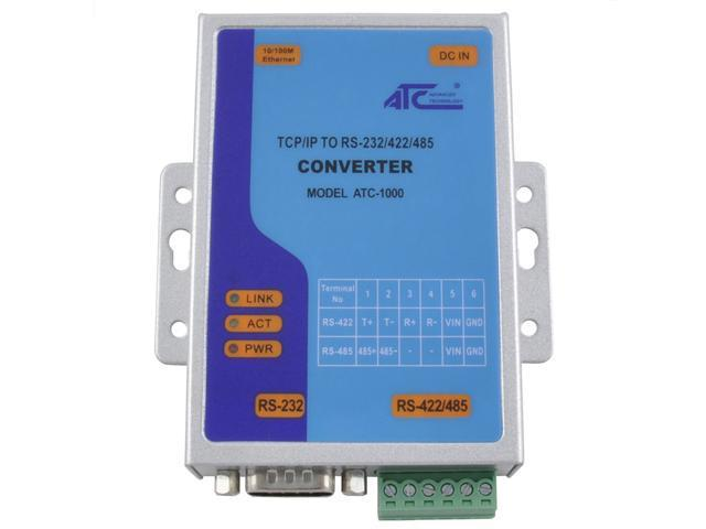 Low Cost Serial to Ethernet Converter – ATC-1000