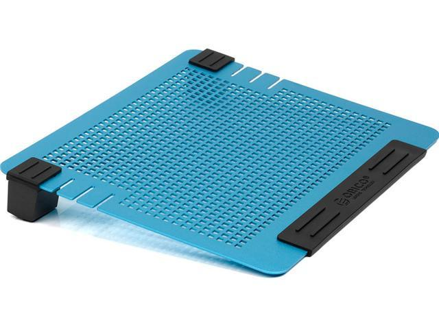 ORICO NCA-1512 -BL Aluminum Laptop Cooling Pad with Two 80mm Adjustable Fans - Blue