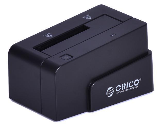 ORICO 6618SUS-BK USB 2.0 + e-SATA Tool Free SATA Hard Drive Docking Station - 2.5 Inches / 3.5 Inches, Support 3TB