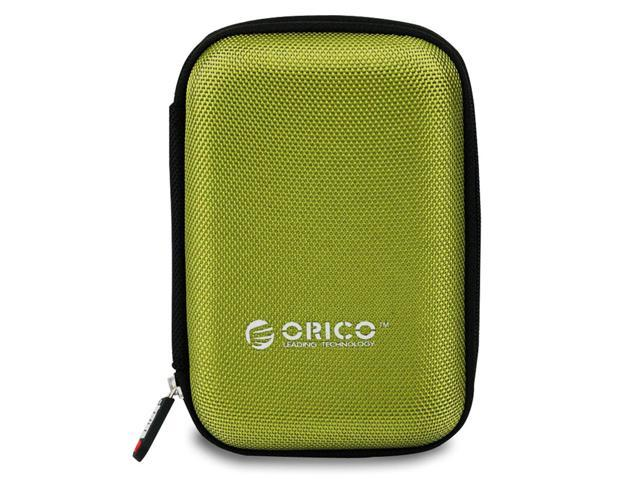 ORICO 2.5 inch Portable External Hard Drive Protection Bag Dual Buffer Layer HDD Protector Case - Green(PHD-25)