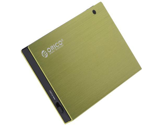 ORICO Tool free 2.5inch USB 2.0 eSATA HDD External Enclosure - Olive Green ( 2595SUS )