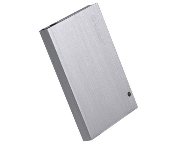 "ORICO 2595SUS Aluminum Housing and Tool Free 2.5"" HDD Enclosure,Support 9.5mm HDD,E-SATA&USB2.0 Interface"