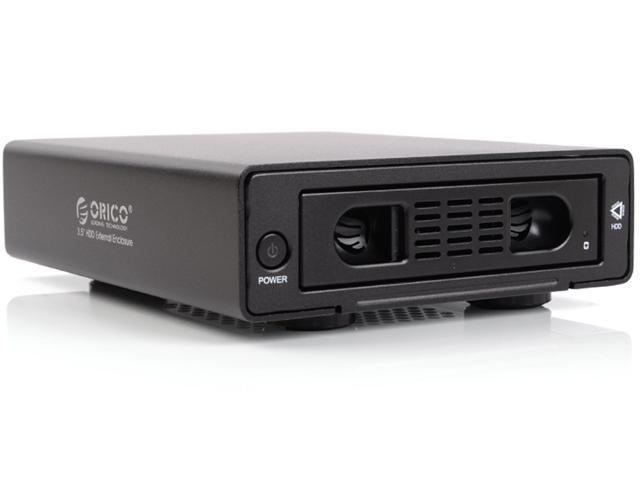 ORICO 3519SUS3-BK Aluminum Alloy HDD External Enclosure with E-SATA and USB3.0 Interface