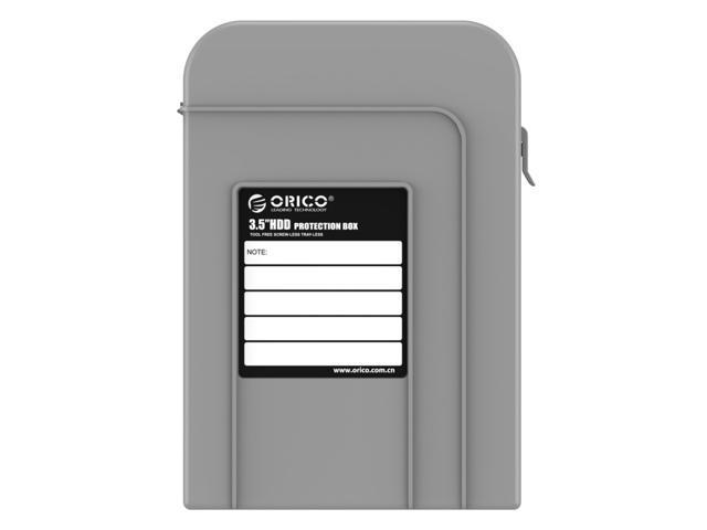 ORICO PHP-35 3.5-Inch HDD Protector Professional Premium Anti-Static Hard Drive Protection Box - Gray