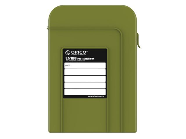 ORICO 3.5 inch HDD Protector Professional Premium Anti-Static Hard Drive Protection Box - Green(PHI-35)
