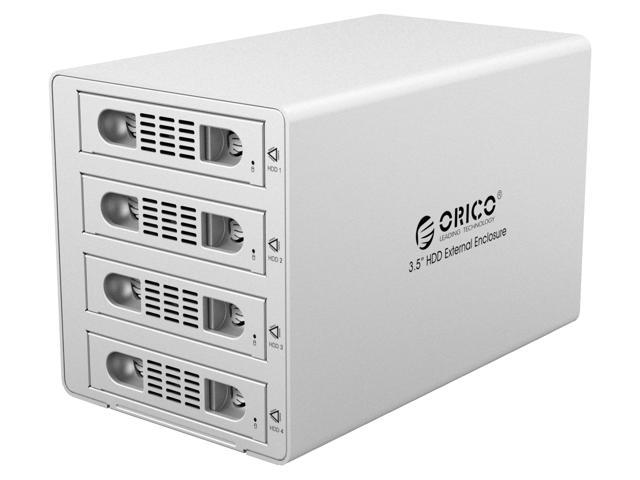 With Raid Function Orico Aluminum 4 Bay 3 5 Inch Usb 3 0