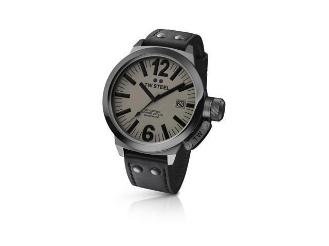 T.W. Steel CEO Canteen Quartz Gray Dial Men's Watch - TWS CE1052