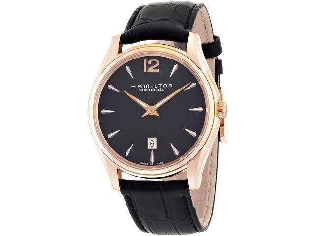 Hamilton Jazzmaster Slim Black Dial Men's Watch - H38645735