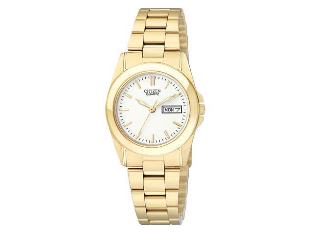 Citizen Quartz Gold Tone Stainless Steel Women's Watch - EQ0562-54A