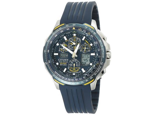 Citizen Eco Drive Blue Angels Skyhawk Chronograph Men's Watch - JY0064-00L