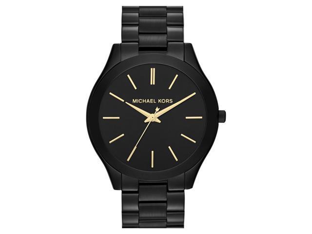 Michael Kors Slim Runaway Quartz Black Dial Women's Watch - MK3221