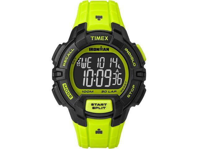 timex sport ironman rugged 30 size tw5m02500 neon