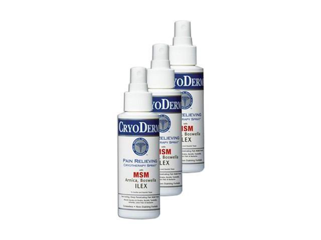Cryoderm Pain Relief Spray - 4 oz