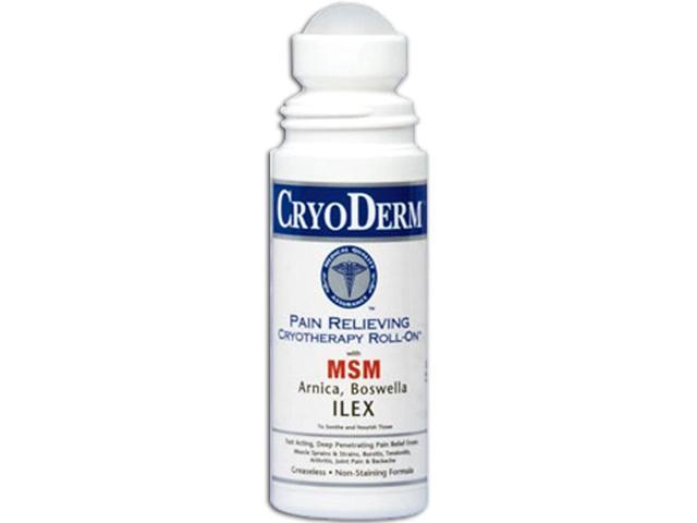 Cryoderm Pain Relief Roll-On - 3 oz
