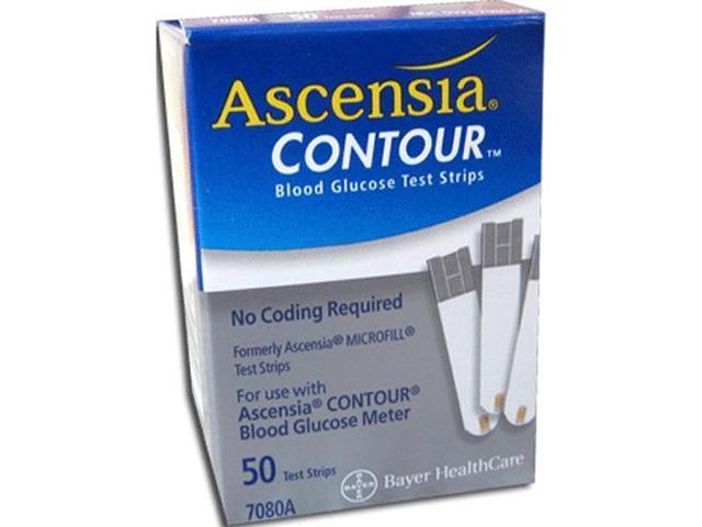 Bayer Contour (Microfill) Test Strips - 50 ea