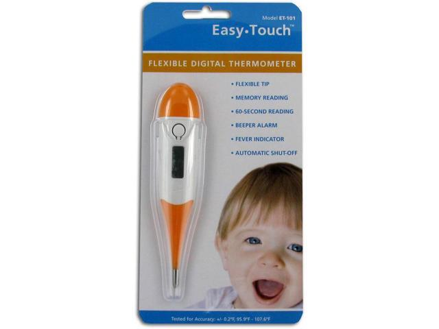 Easy Touch Flexible Digital Thermometer, Amber - 1 ea