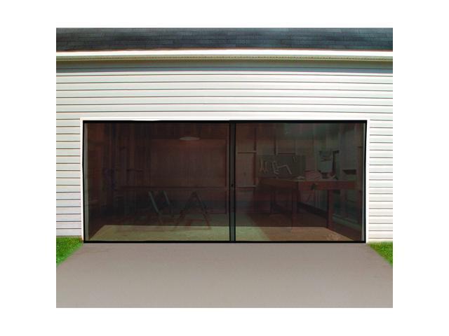 Double garage door screen - Single car garage door screen ...