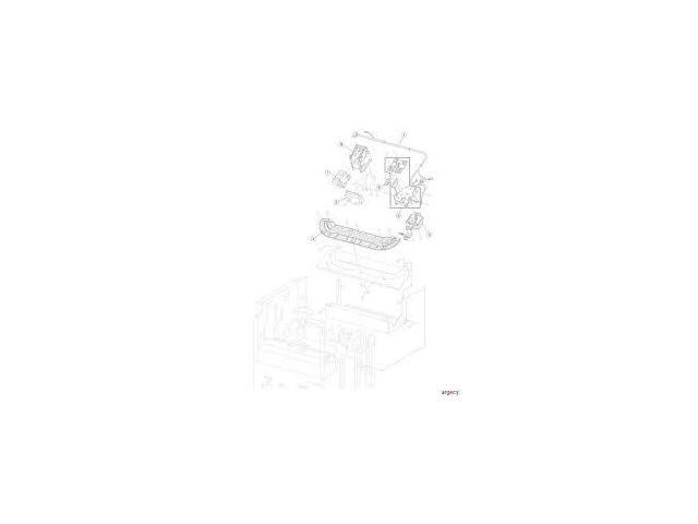 Lexmark C935 Media Eject Motor Assy