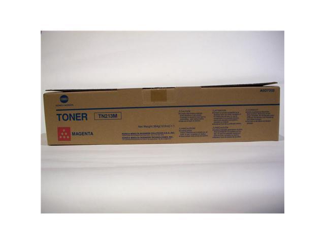 Konica-Minolta A0D7332  TN213M OEM Toner: Magenta Yields 19,000 Pages
