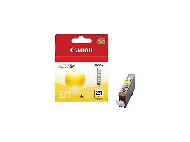 Canon CLI-221Y  221 OEM Ink Tank: Yellow