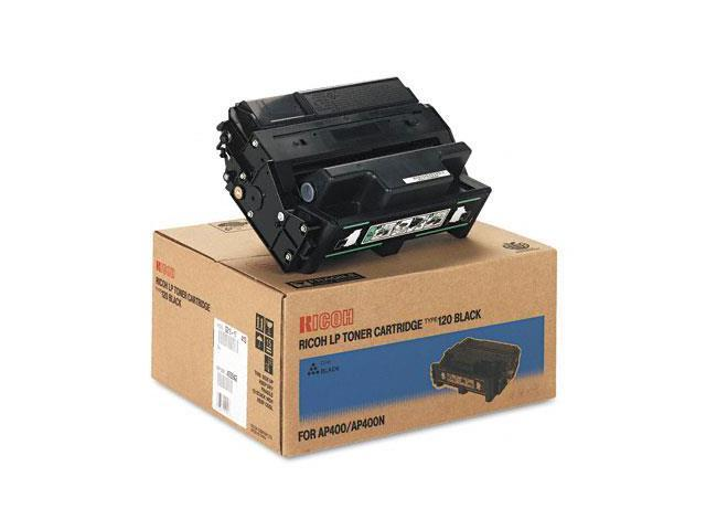 Ricoh 406999  Type 120 OEM Toner/Drum: Black Yields 15,000 Pages